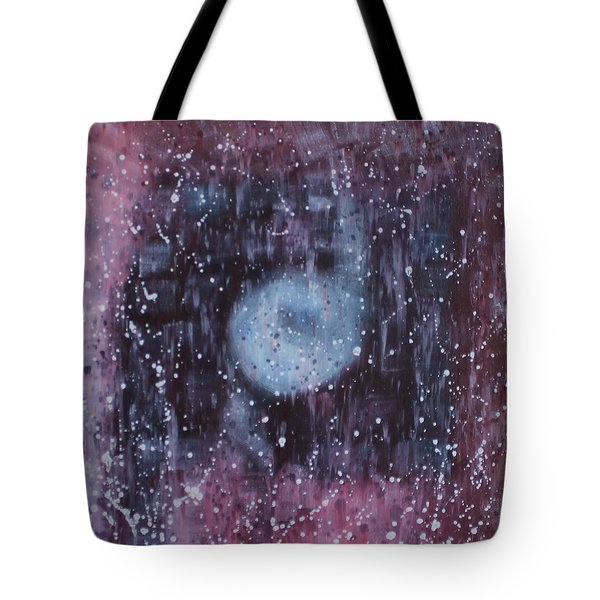 Tote Bag featuring the painting Spiritual Destination by Min Zou