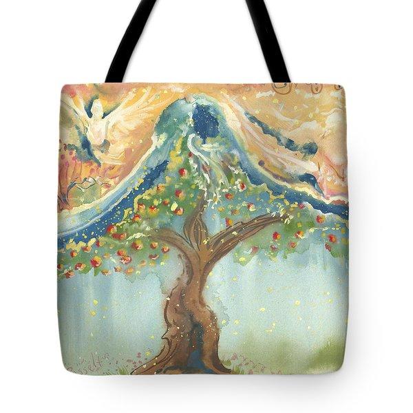 Spiritual Embrace Tote Bag