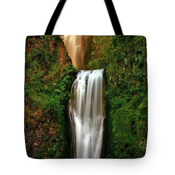Spiritual Falls Tote Bag