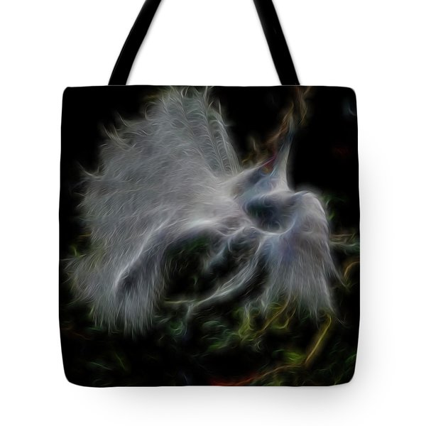 Spiritual Plumage Tote Bag by William Horden