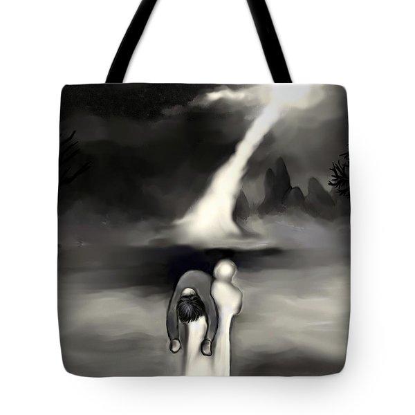 Spiritual Rescue Tote Bag by Carmen Cordova