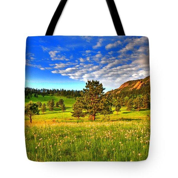 Spiritual Sky Tote Bag