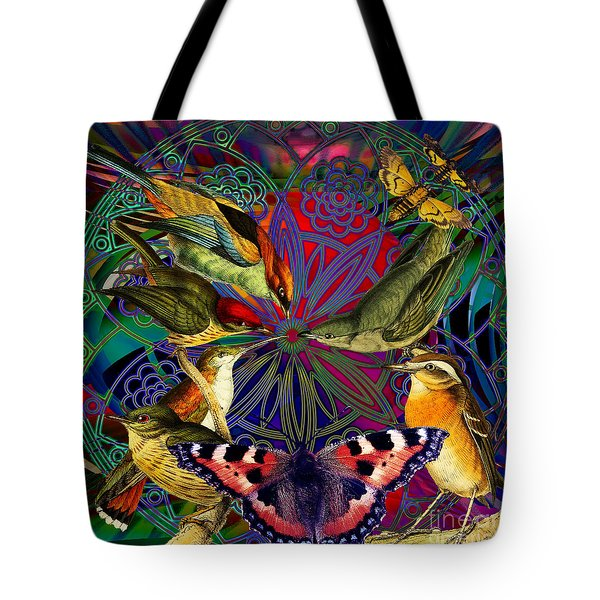Spiritual Sun Behind The Sun Tote Bag