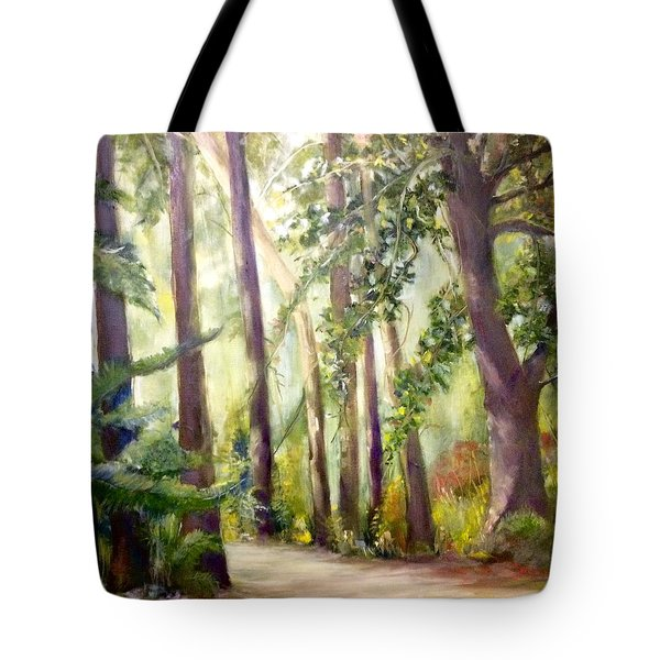 Spirt Of The Green Trees Tote Bag