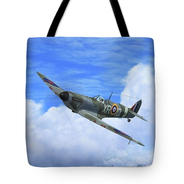 Spitfire Airborne Tote Bag
