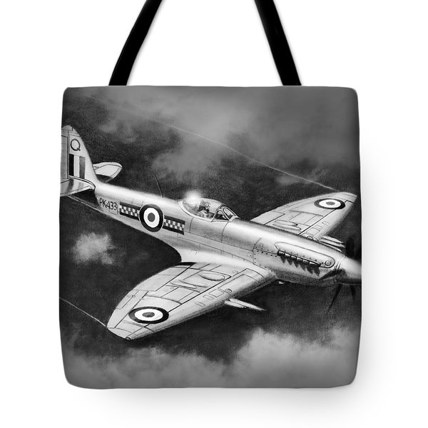 Spitfire Mark 22 Tote Bag