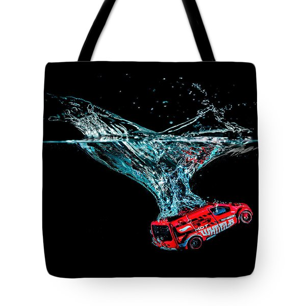 Splash Down Tote Bag