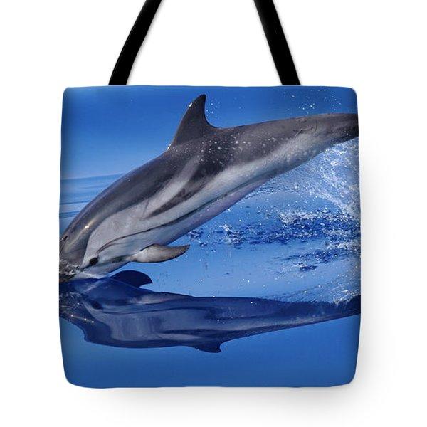 Splash Down Tote Bag by Richard Patmore