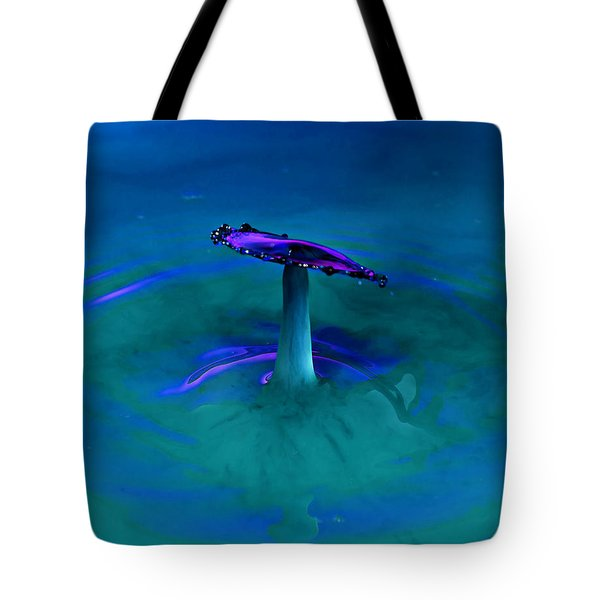 Tote Bag featuring the photograph Splash Frozen In Time by James Sage
