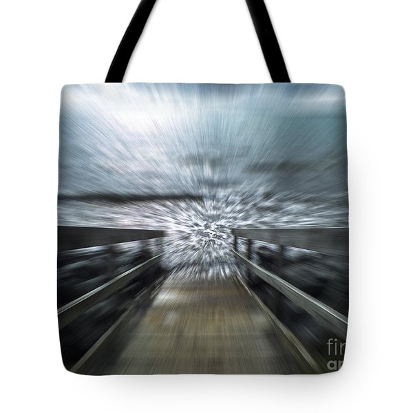 Splash Tote Bag by Karen Lewis