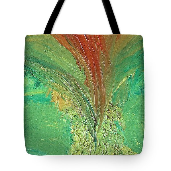 Splash Tote Bag by Karen Nicholson