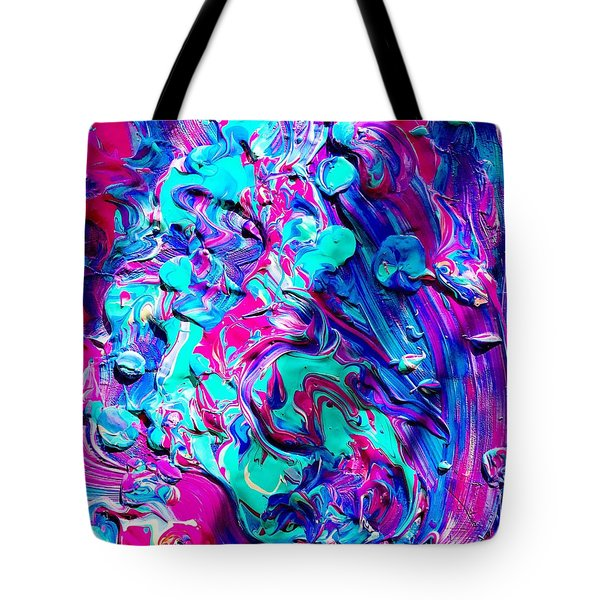 Splash Of Color Tote Bag