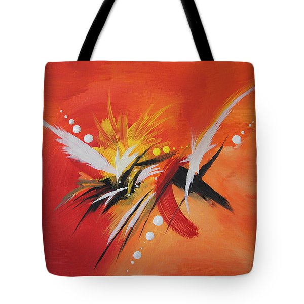 Splash Of Imagination Tote Bag