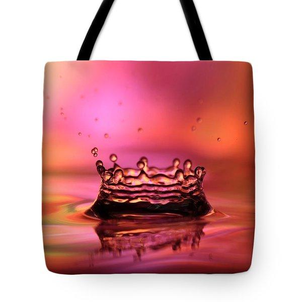 Splash Tote Bag by Sabrina L Ryan