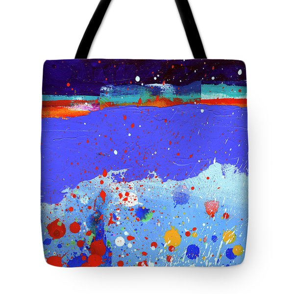 Splash#5 Tote Bag by Jane Davies