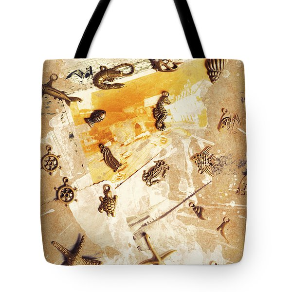 Splashback To The Old Ocean Tote Bag