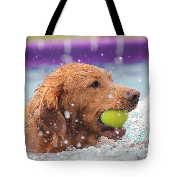 Splashing Around Tote Bag