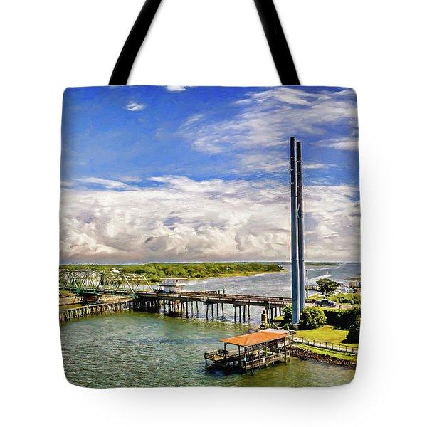 Splendid Bridge Tote Bag