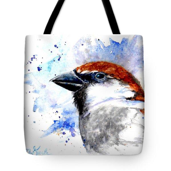 Splendid Sparrow Tote Bag
