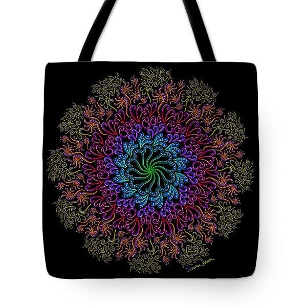 Splendid Spotted Swirls Tote Bag