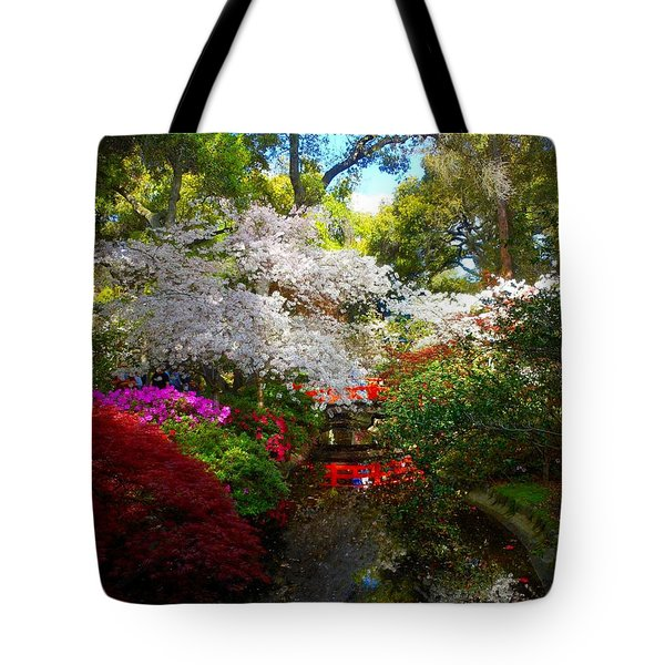 Splendor By The Water's Edge Tote Bag