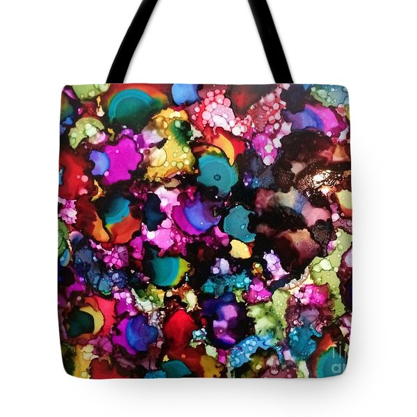 Tote Bag featuring the painting Splendor by Denise Tomasura