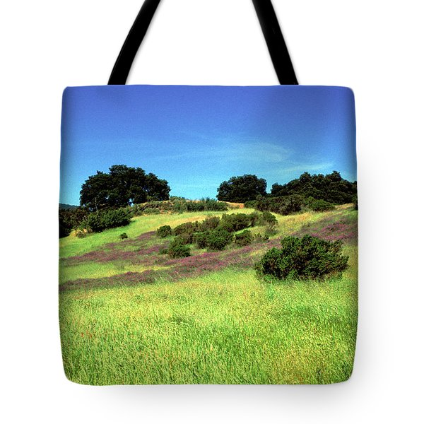 Splendor In The Grass Tote Bag by Kathy Yates