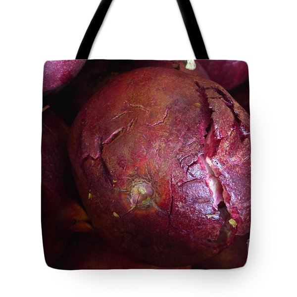 Tote Bag featuring the photograph Splintered by Nora Boghossian