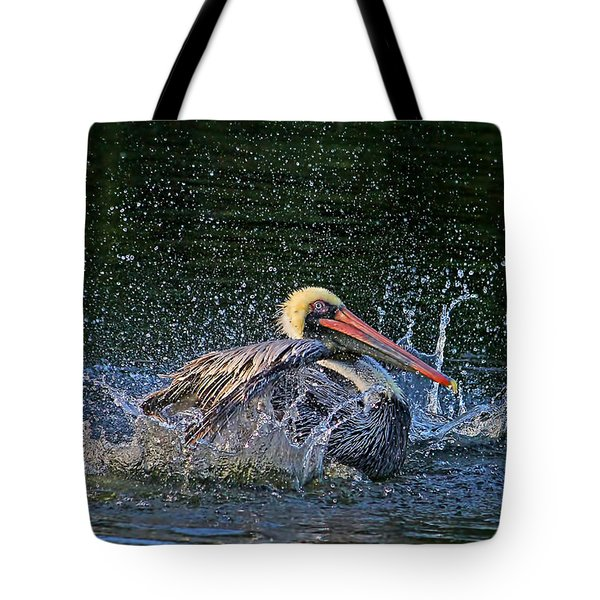 Splish Splash Tote Bag by HH Photography of Florida