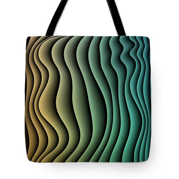 Split Infinities Tote Bag