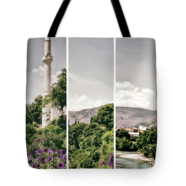 Split Landscape Tote Bag