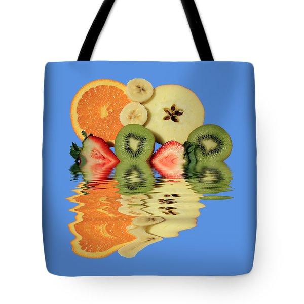 Split Reflections Tote Bag