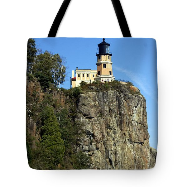 Split Rock 3 Tote Bag by Marty Koch