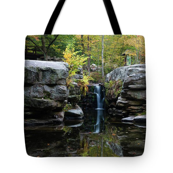 Split Rock In October #1 Tote Bag by Jeff Severson