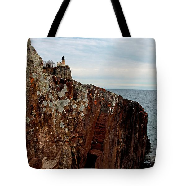 Tote Bag featuring the photograph Split Rock Island by James Peterson