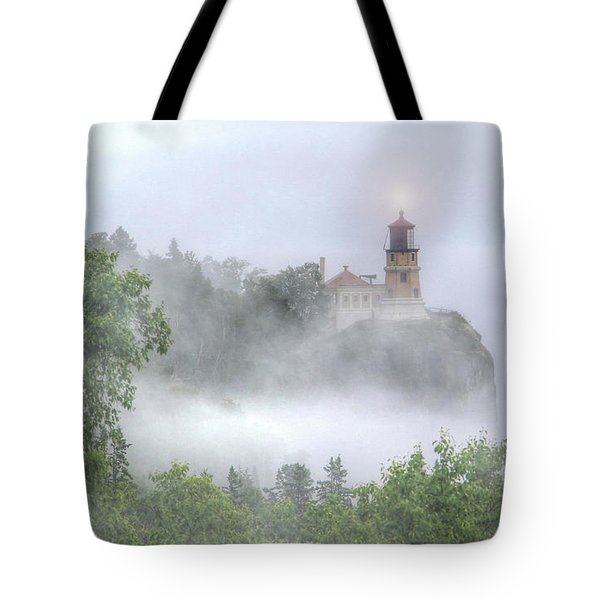 Split Rock Lighthouse Lake Superior North Shore Tote Bag