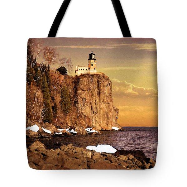 Split Rock Lighthouse Tote Bag