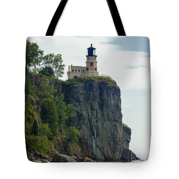 Split Rock Lightouse Tote Bag