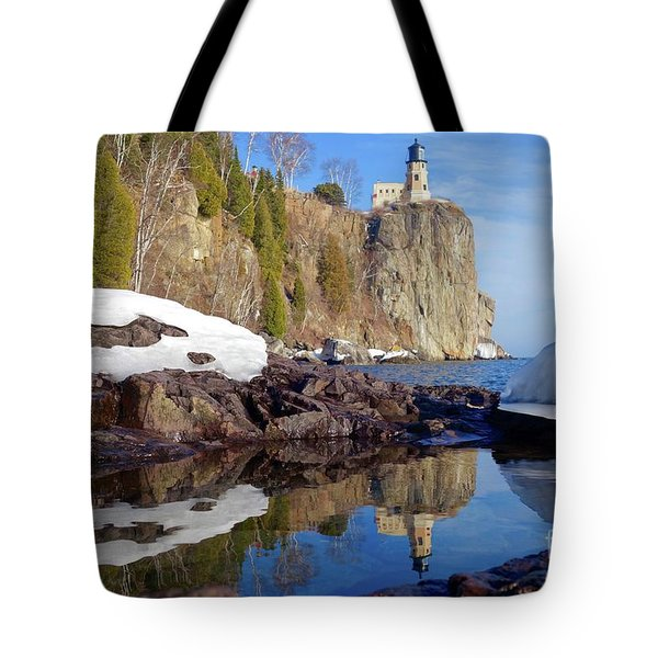 Split Rock Reflections Tote Bag