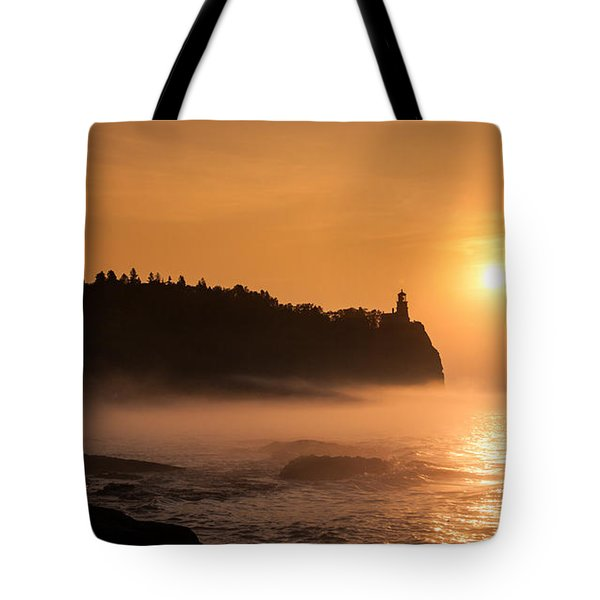 Split Rock's Morning Glow Tote Bag