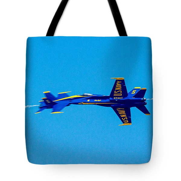 Split Second In Time Tote Bag by Allan Levin