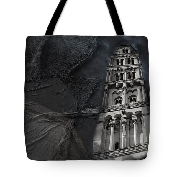 Tote Bag featuring the photograph Split Story  by Danica Radman