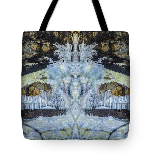 Split The Falls Tote Bag