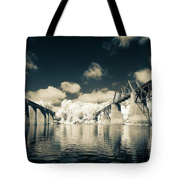 Congaree Trestles Cayce, Sc Tote Bag