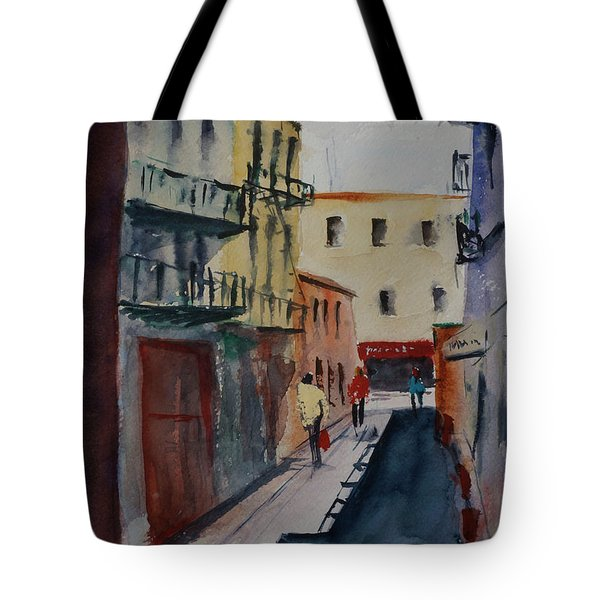 Spofford Street2 Tote Bag by Tom Simmons