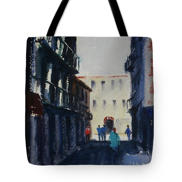 Spofford Street4 Tote Bag by Tom Simmons