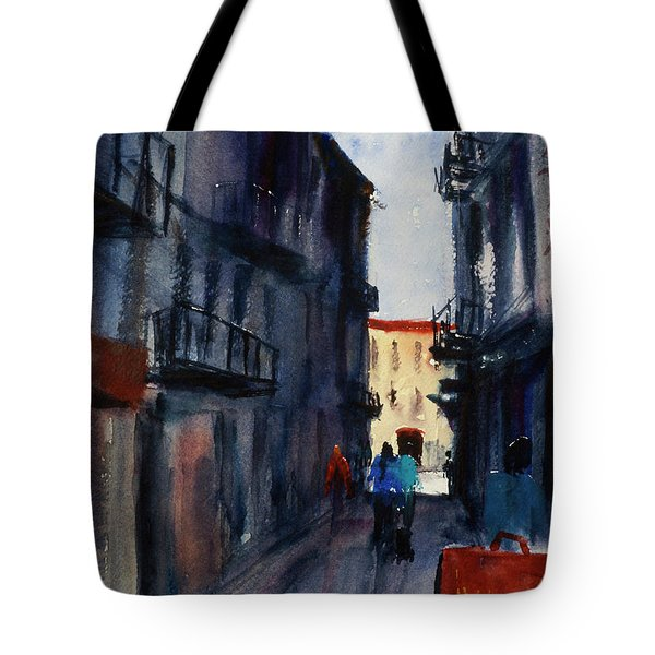 spofford Street5 Tote Bag by Tom Simmons