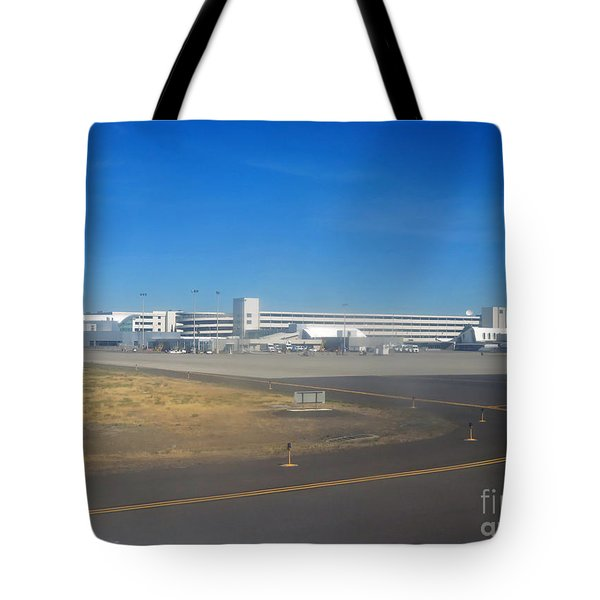 Spokane. Wa Airport  Day 11 Tote Bag by Cindy Murphy - NightVisions