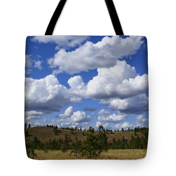 Spokane Cloudscape Tote Bag by Ben Upham III