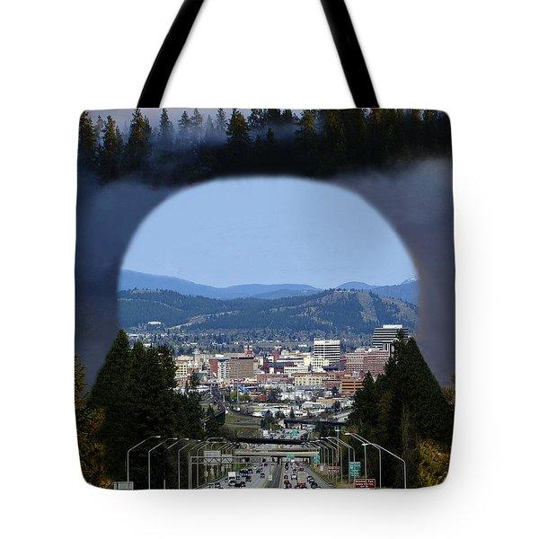 Spokane Near Perfect Nature Tote Bag